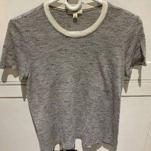 Wilfred grey top